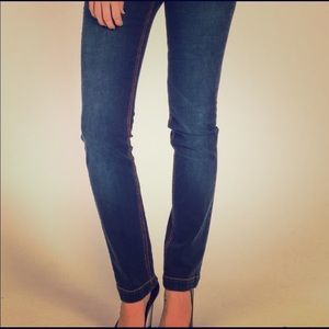 Dolce & Gabbana Straight Leg Blue Jeans